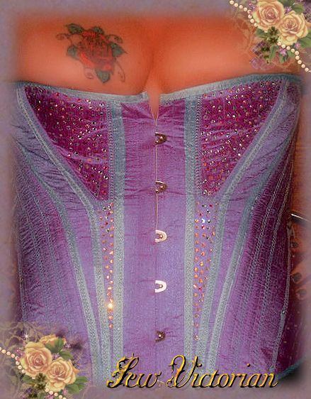 Bespoke waist training corsets, quality craftsmanship and materials.  High quality fast turnaround at reasonable prices
