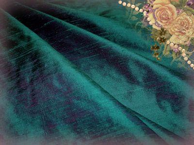 Anemone Dupioni Silk