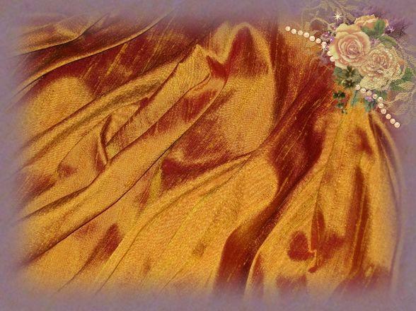 Antique Gold Dupioni Silk
