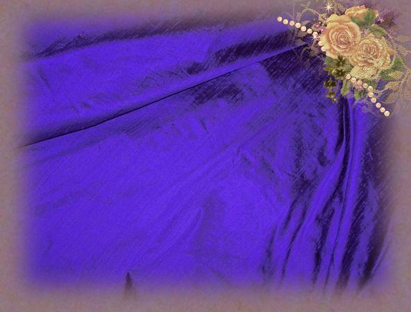 Blueberry Dupioni Silk