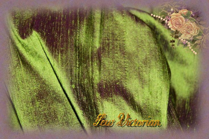 Dragonfly Dupioni Silk