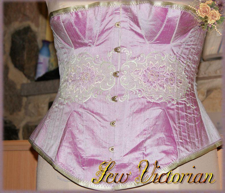 Fashion Silk Corset
