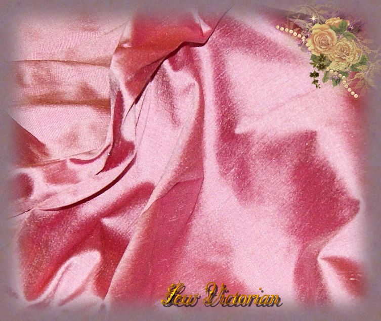Turkish Rose Dupioni Silk